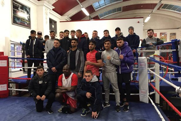Today's sparring with our Australian guests for two weeks.Many thanks to all those who made it over.
