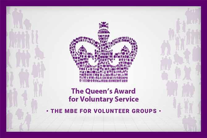 OBPDC has been awarded a prestigious Queen's Award for Voluntary Service